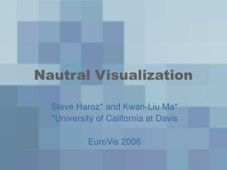 Nautral Visualization