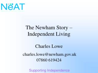 The Newham Story – Independent Living