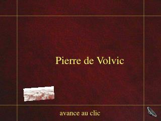 Pierre  de  Volvic