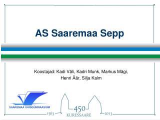 AS Saaremaa Sepp