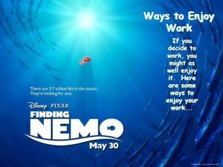 Ways to Enjoy Work