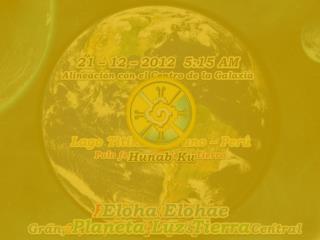 Helios y Vesta Gran Sol Espiritual Central