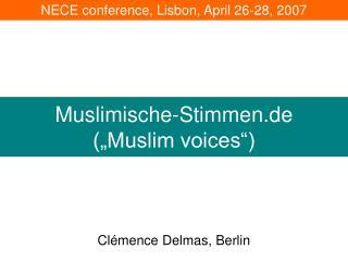 Muslimische-Stimmen.de