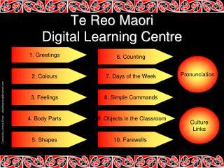 Te Reo Maori Digital Learning Centre