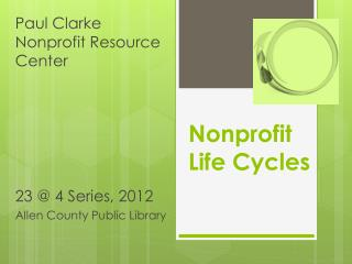 Nonprofit  Life Cycles