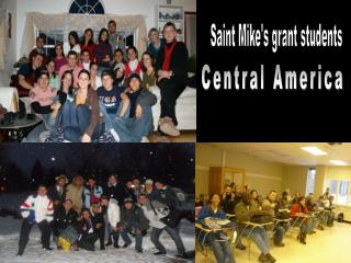 Saint Mike's grant students