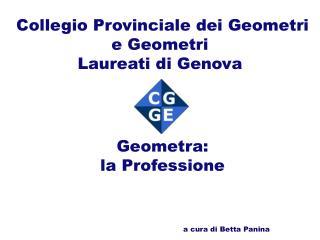 Collegio Provinciale dei Geometri e Geometri  Laureati di Genova