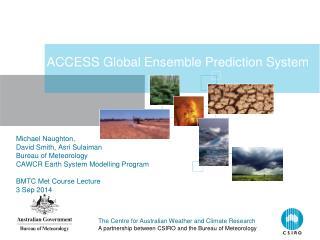 ACCESS Global Ensemble Prediction System