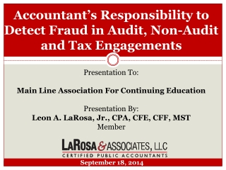 Detecting and Preventing Fraud in Nonprofits