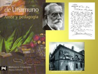 La casa de Unamuno en Salamanca
