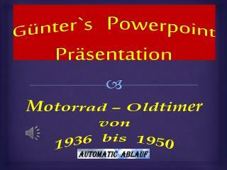 G�nter`s Powerpoint Pr�sentation