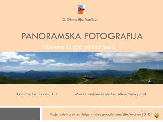 PANORAMSKA FOTOGRAFIJA