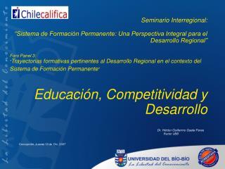 Seminario Interregional: