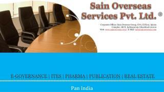 E-Governance    ITes    Pharma   publication   real estate