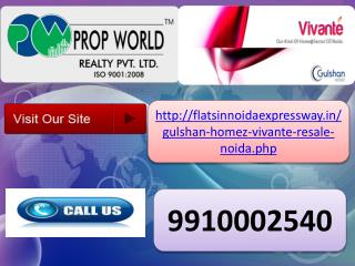 resale in gulshan vivante (9910002540) sector 137 noida expr