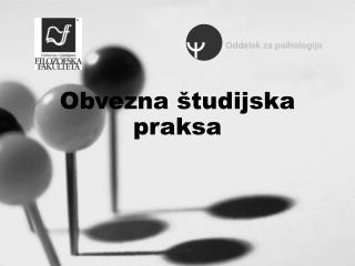 Obvezna študijska praksa