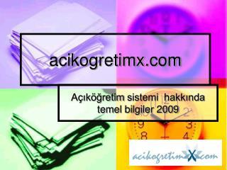 acikogretimx