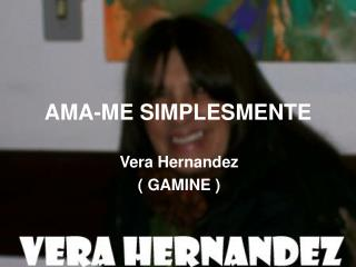 AMA-ME SIMPLESMENTE