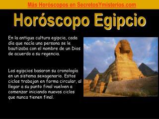 Horóscopo Egipcio