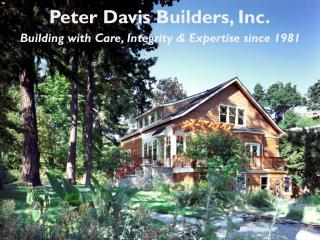 Peter Davis Builders, Inc.