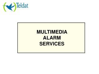 MULTIMEDIA ALARM SERVICES