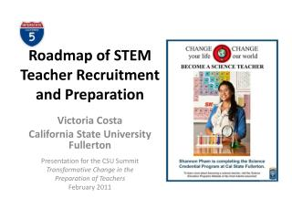 Roadmap of STEM Teacher Recruitment and Preparation