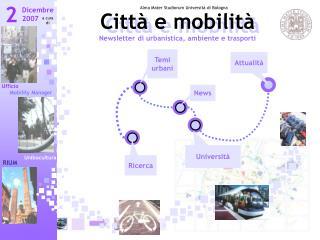 Città e mobilità