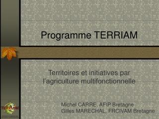 Programme TERRIAM
