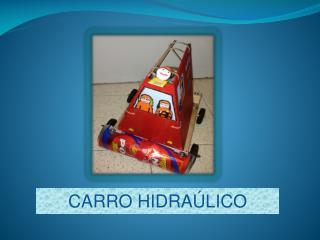 CARRO HIDRAÚLICO