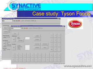 Case study: Tyson Foods