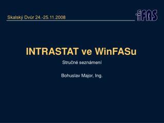INTRASTAT ve WinFASu