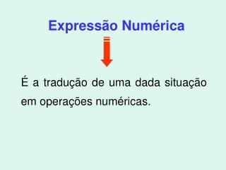Expressão Numérica
