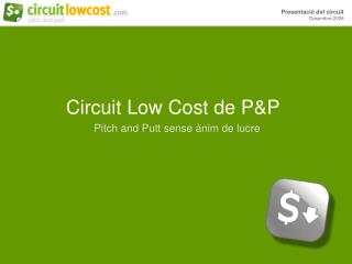 Circuit Low Cost de P&P
