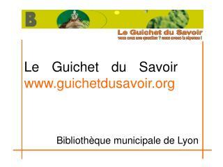 Le Guichet du Savoir guichetdusavoir