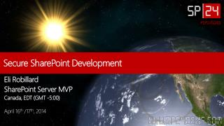 Secure SharePoint Development