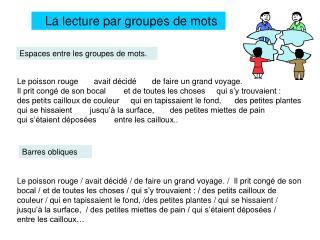 La lecture par groupes de mots