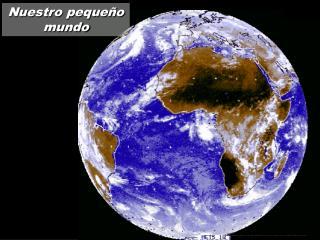 Nuestro pequeño mundo