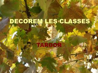 DECOREM LES CLASSES
