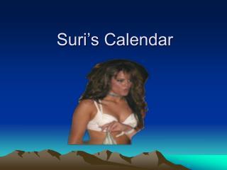 Suri's Calendar