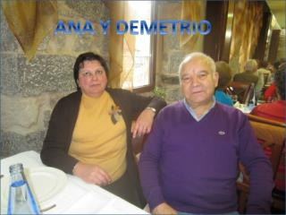 ANA Y DEMETRIO