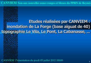 CANVIEM  Présentation du  jeudi  05  juillet  2012 18h00