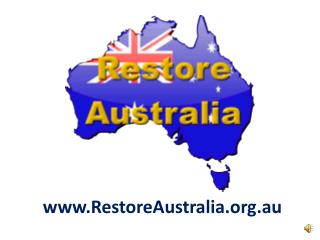 RestoreAustralia.au