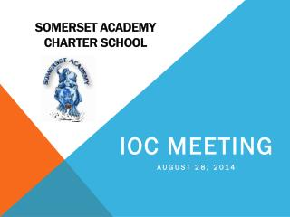 SOMERSET ACADEMY CHARTER SCHOOL