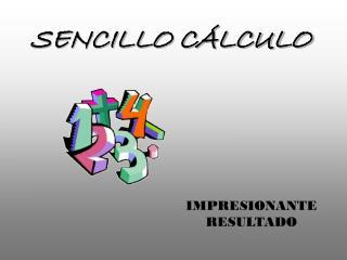 SENCILLO CÁLCULO