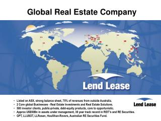 Global Real Estate Company