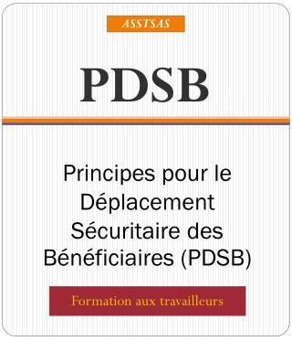 Principes pour le Déplacement Sécuritaire des Bénéficiaires (PDSB)