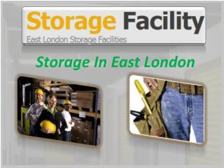 Storage In East London