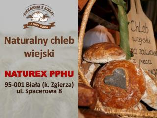 Naturalny chleb wiejski