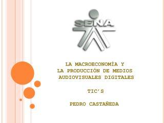 LA MACROECONOMÍA Y  LA PRODUCCIÓN DE MEDIOS  AUDIOVISUALES DIGITALES