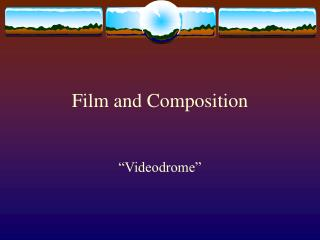 Film and Composition